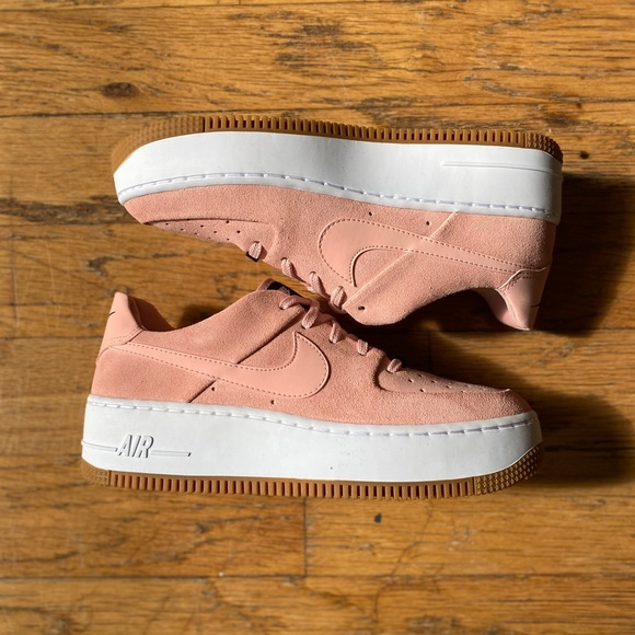coral stardust nike air force